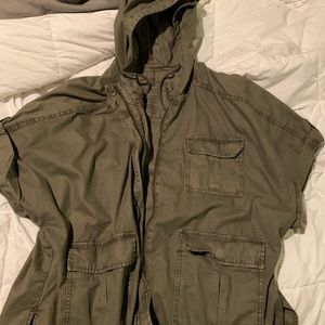 American eagle adirondack short sleeve jacket